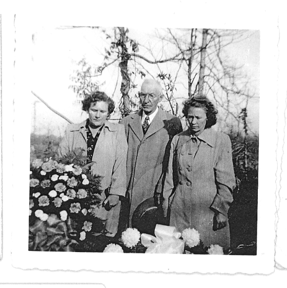 Earline Peebles Terry, Dan Edward Peebles, Jennie Peebles Glenn