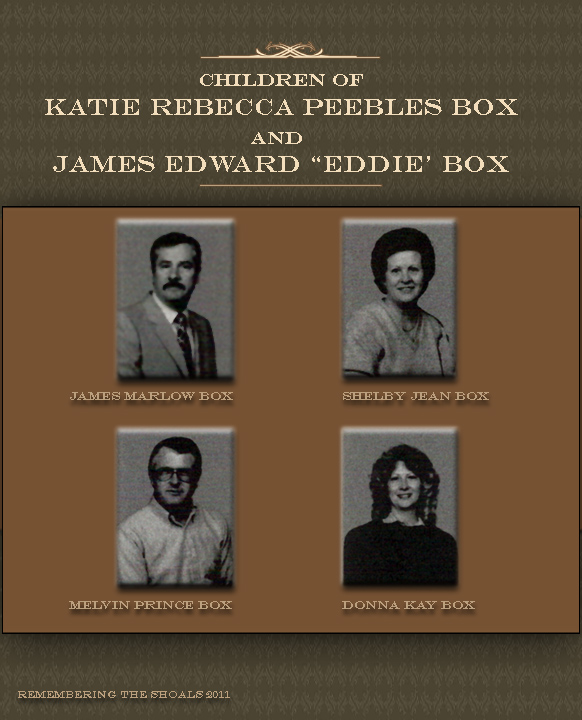 Children of Katie Box Peebles and Eddie Box