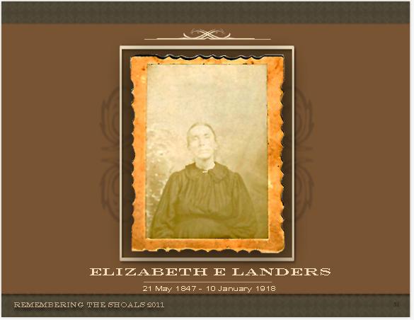 Elizabeth Elanor Landers