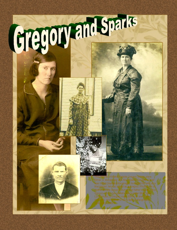 Gregory and Sparks of Colbert County