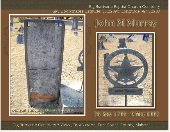 John M Murray Gravemarkers