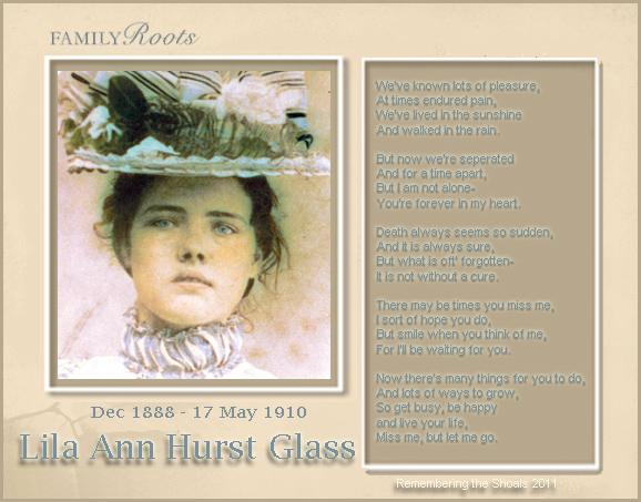 Lila Ann Hurst Glass