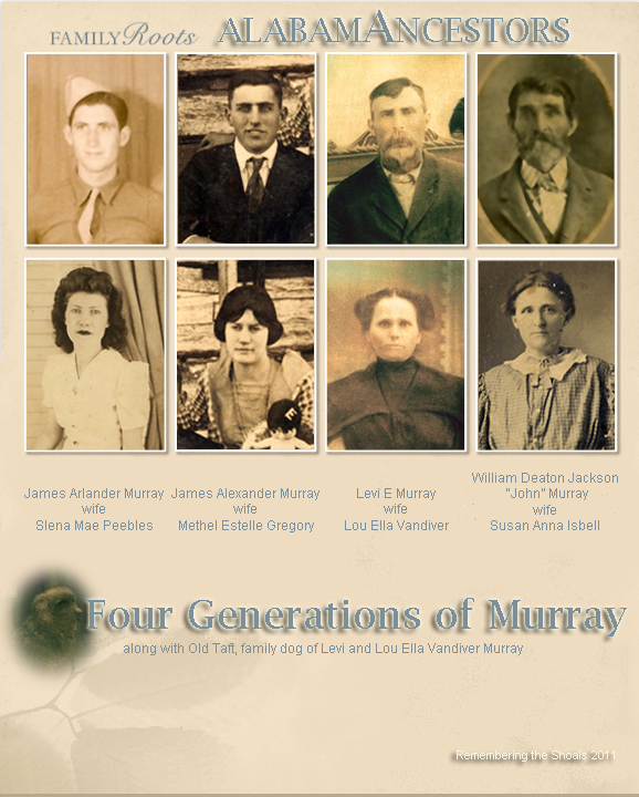AlabamAncestors: Four Generations of Murray