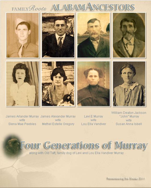 AlabamAncestors: Four Generations of Murray