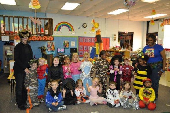 PreK Pumpkin Day Oct 2010