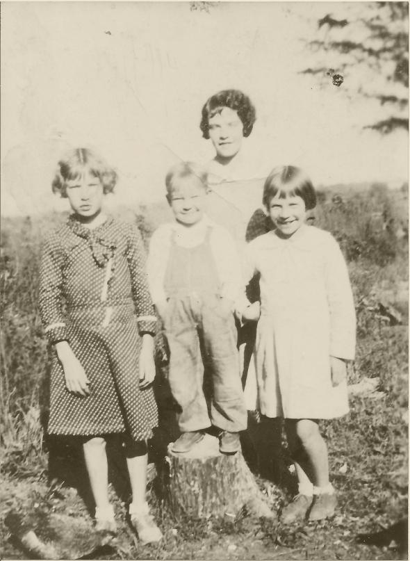 1934 Slena Mae Peebles, R D Peebles, Preston Peebles, Ellen Peebles