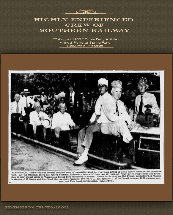 Southern Railway Annual Picnic 1953