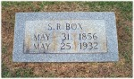 Gravemarker for Stephen R Box