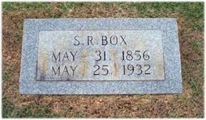 Gravemarker for Stephen R Box