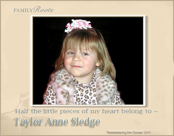 Taylor Anne Sledge Jan 2011