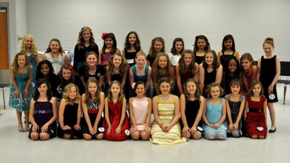 Miss Trojan Pageant Contestants