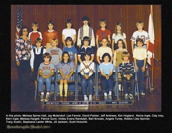 Mrs Gaskins class at C M Brewster Elementary 1979