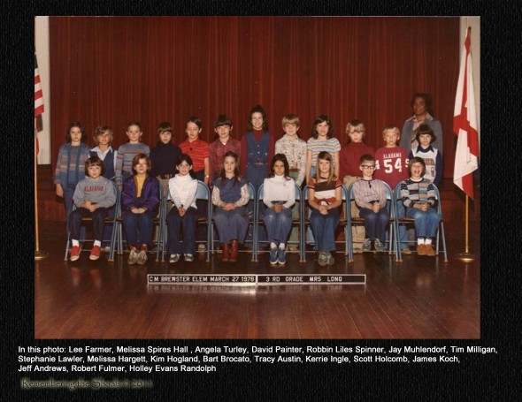 Mrs Long's 1978 Class at C M Brewster Elementary