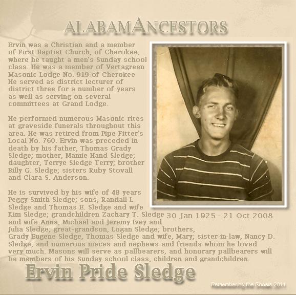 "Ervin Pride Sledge ""Paw"""