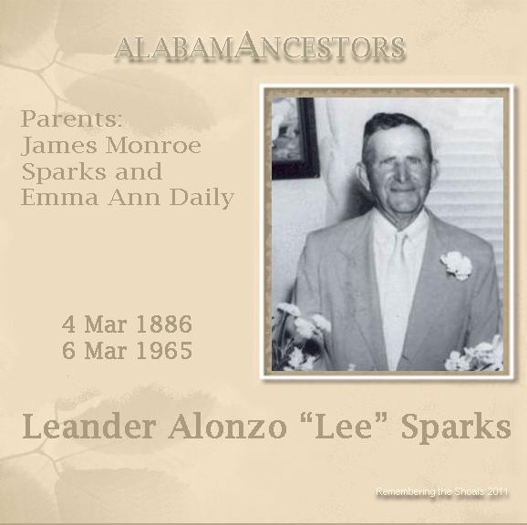 """Leander Alonza """"Lee"""" Sparks"""