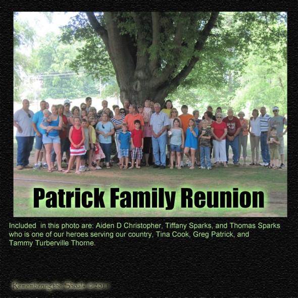 Patrick Family Reunion Patrick Family Reunion