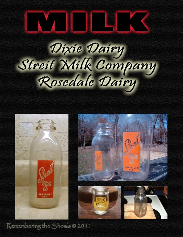Streit Milk Company Sheffield Alabama