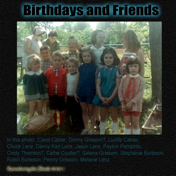 Birthdays and Friends