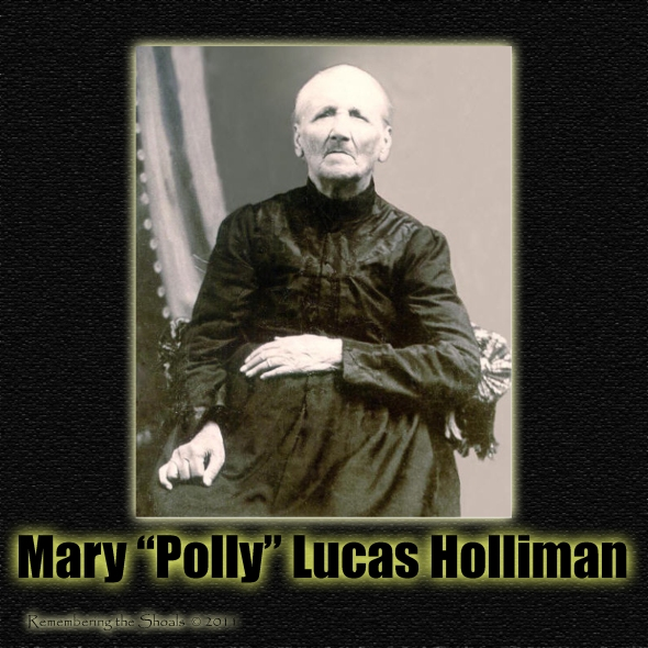 Mary Polly Lucas Holliman circa 1840s