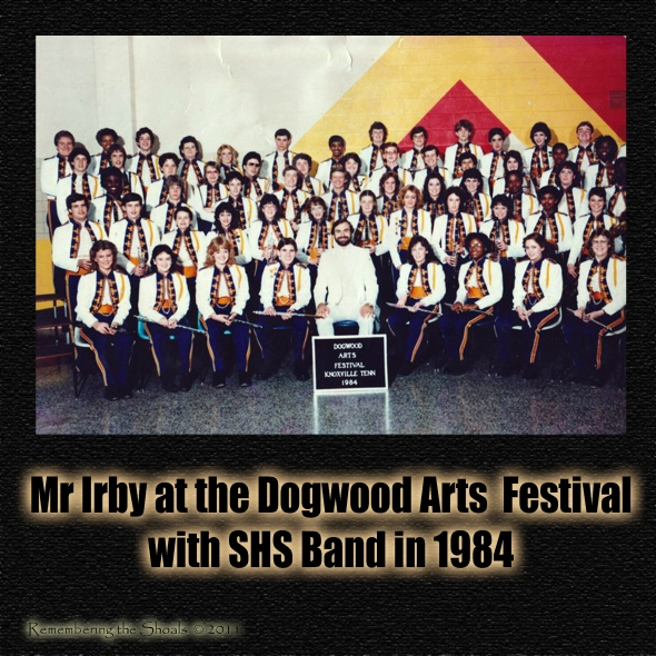Sheffield High School 1984 Band at the Dogwood Arts Festival