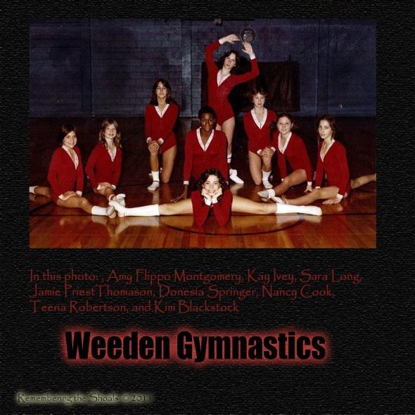 Weeden Gymnastics 1970s