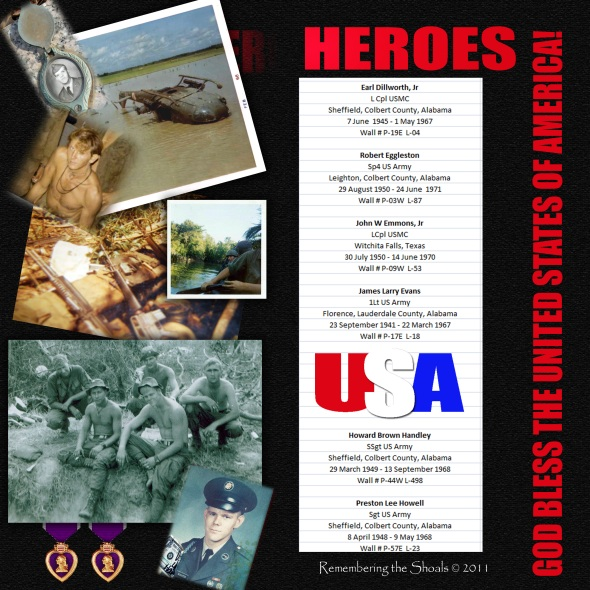 Sheffield boys who were KIA during the Vietnam War: List 2
