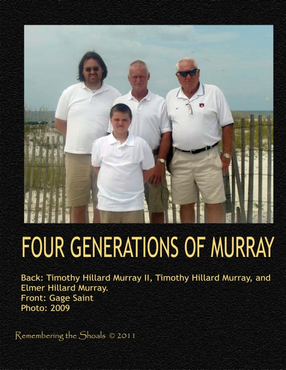 Four Generations Of Hillard Murray