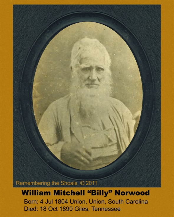 "William Mitchell ""Billy"" Norwood"