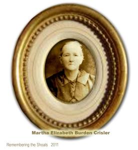 Martha Elizabeth Burden Crisler