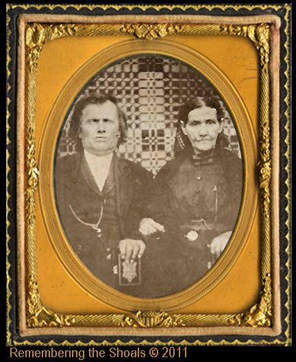 Isham B Roberts and Susannah E Hyler Roberts