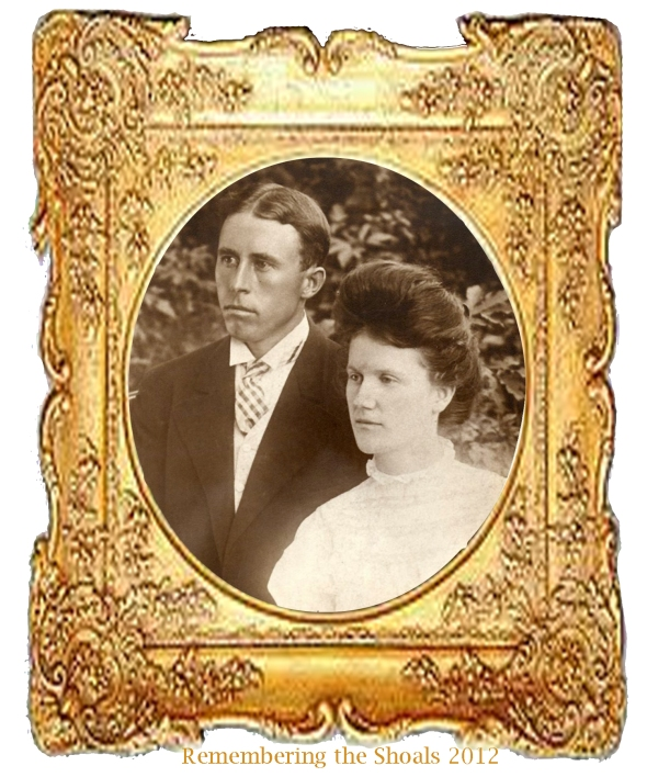 A photo of husband and wife Clarence Edward Moody and Effie Alma Rorex