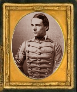 A photo of Joseph Wheeler as a West Point Cadet