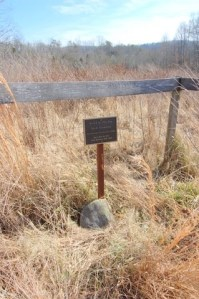 Photo of burial marker for Jacob Stooksbury in Anderson County, Tennessee