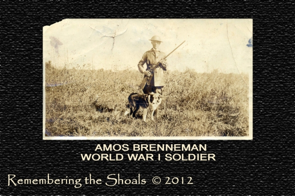 photo of Amos Brenneman World War I Soldier