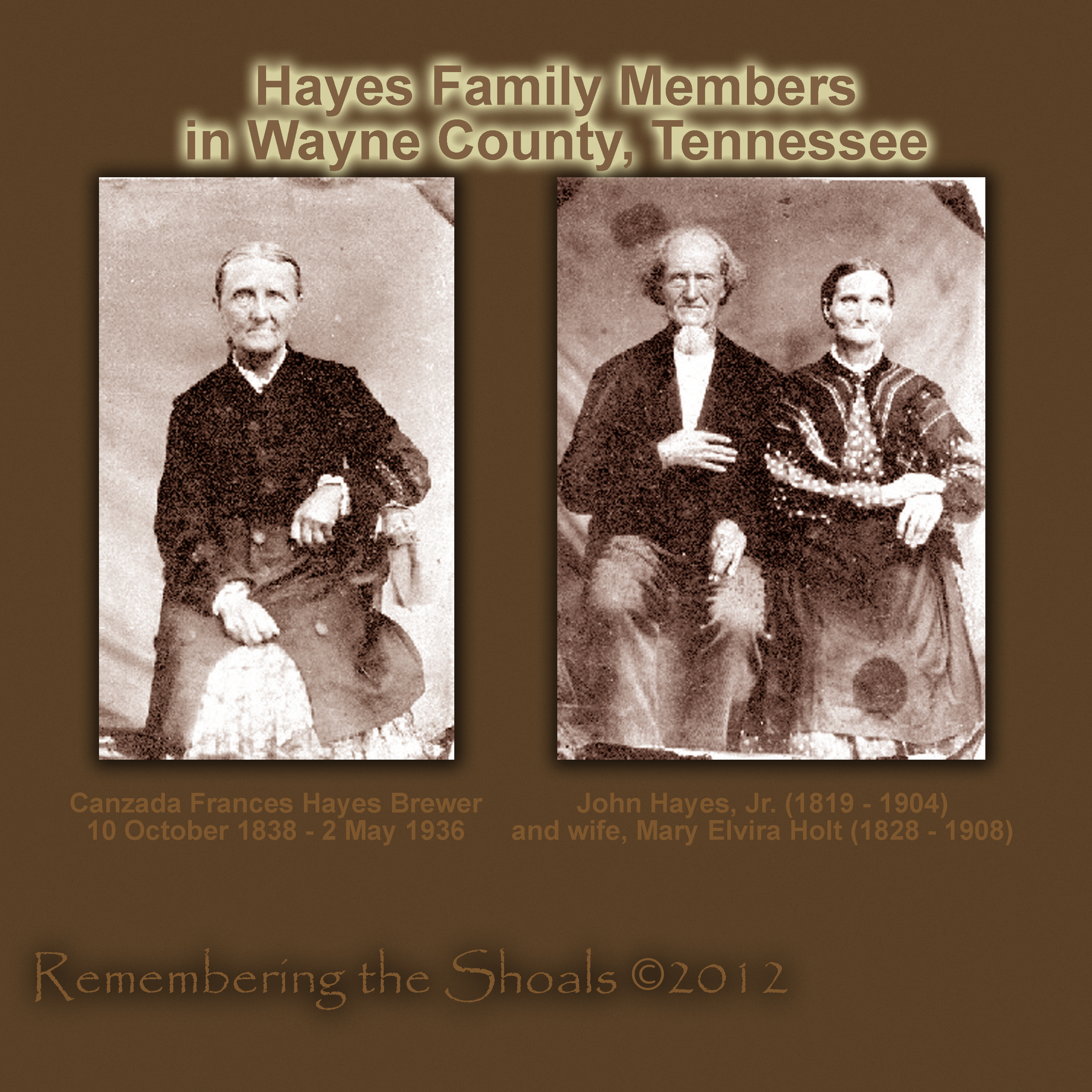 Wayne county tennessee remembering the shoals photo of hayes family in wayne county tennessee circa 1860 1betcityfo Images