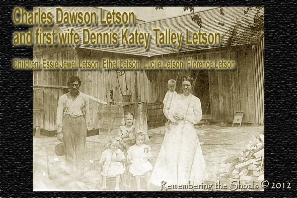 Photo of Charley and Dennis Katey Talley Letson 1910 in Texas
