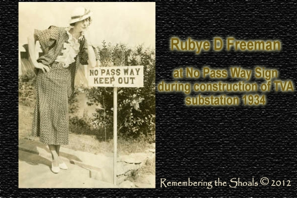 Photo of Rubye D Freeman at TVA substation