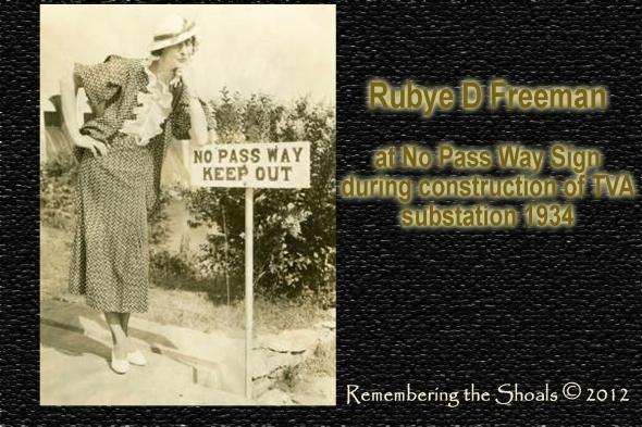 Photo of Rubye D Freeman at TVA substation