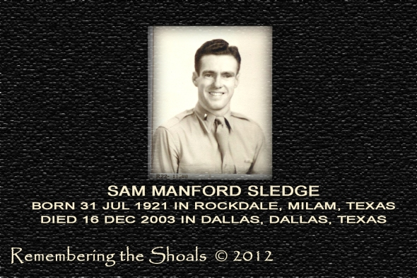 Photo of Sam Manford Sledge