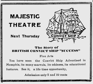 Photo of venue at Majestic Theatre on 6 April 1917.