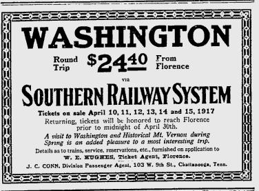 Southern Railway advertisement