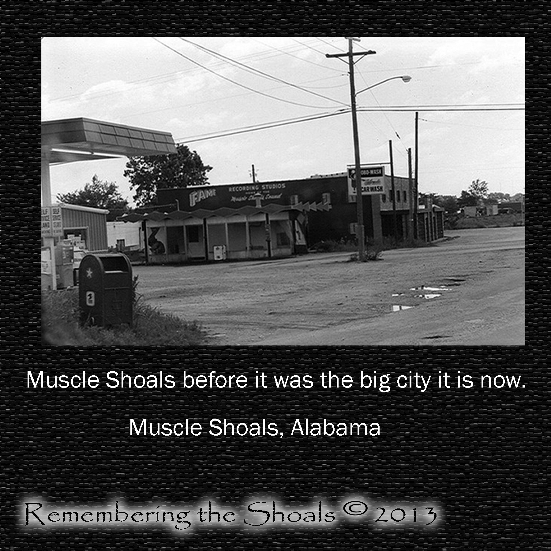 muscle shoals alabama remembering the shoals