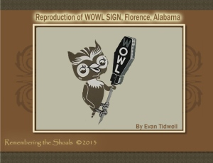 Reproduction of WOWL sign