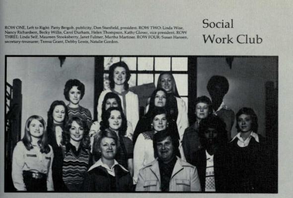 Social Work Club 1976 UNA