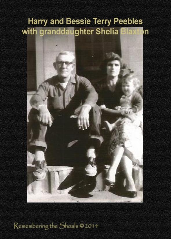 Photo of Harry Peebles and Bessie Terry Peebles