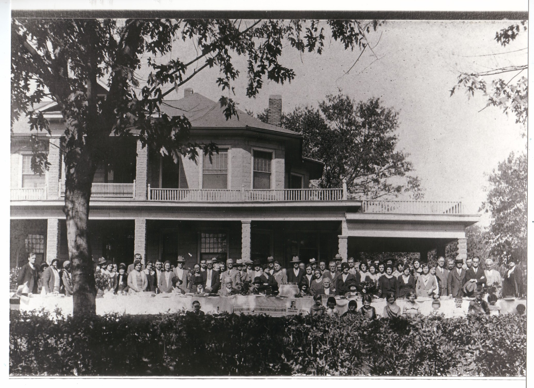 Alabama jackson county section - 1930 Isbell Reunion At Home Of Levi Isbell