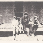 Photo of Wiliam Henry Peebles and great grandchildren