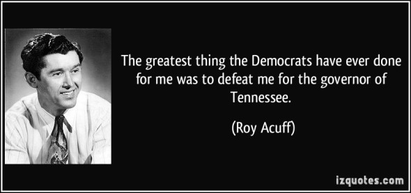 democrats and roy acuff